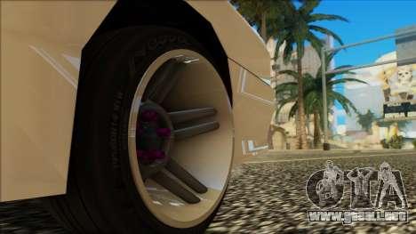 Elegy HellCat para la vista superior GTA San Andreas