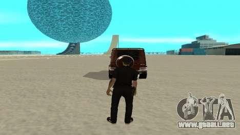 Una salida rápida de transporte para GTA San Andreas segunda pantalla