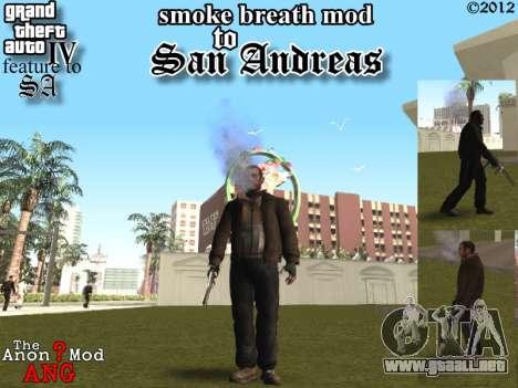Las parejas boca CJ ya y transeúntes para GTA San Andreas