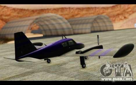 GTA 5 Western Company Cuban 800 para la visión correcta GTA San Andreas