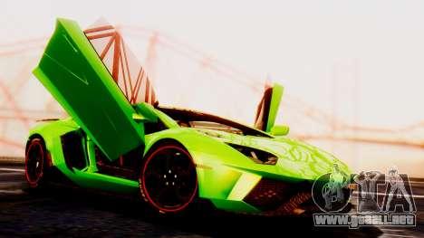 Lamborghini Aventador Mansory para GTA San Andreas