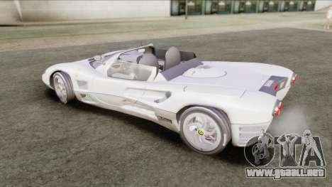 Ferrari P7 Yrid para GTA San Andreas vista posterior izquierda
