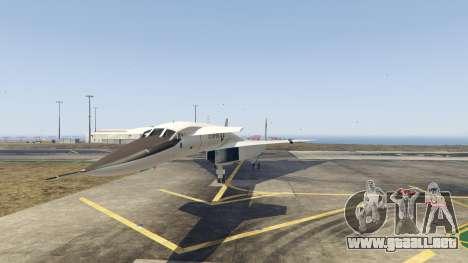 GTA 5 XB-70 Valkyrie segunda captura de pantalla