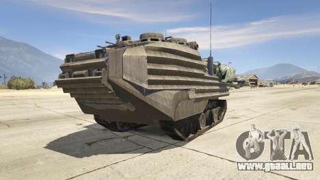 AAV-7A1 AMTRAC para GTA 5