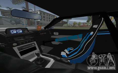 Elegy Drift King GT-1 [2.0] para visión interna GTA San Andreas