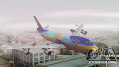 Boeing 747-400 Singapore Airlines Tropical PJ para GTA San Andreas