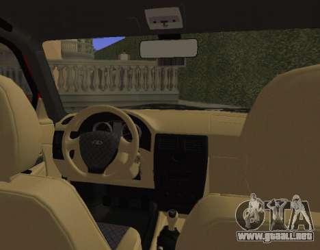 VAZ 2110 KBR para GTA San Andreas vista hacia atrás
