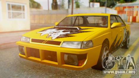 El sultán Винил из need For Speed ProStreet para GTA San Andreas