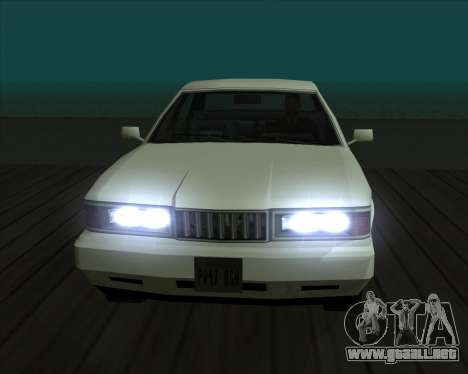 Vehículo Nuevo.txd v2 para GTA San Andreas undécima de pantalla