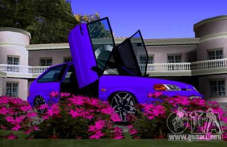 VAZ 2113 KBR para visión interna GTA San Andreas