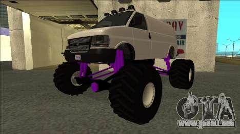 GTA 5 Vapid Speedo Monster Truck para GTA San Andreas