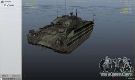 Rueda de GTA 5 FV510 Warrior