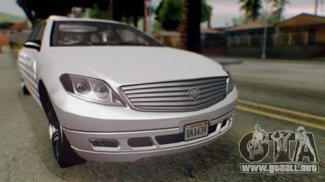 GTA 5 Benefactor Stretch E Turreted IVF para la visión correcta GTA San Andreas