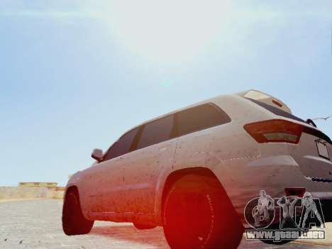 Jeep Grand Cherokee SRT8 2013 Tuning para GTA San Andreas left