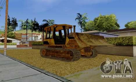 New Dozer para GTA San Andreas left