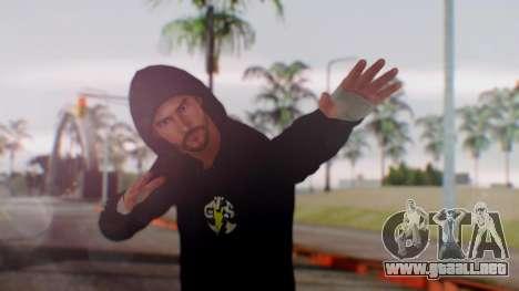 CM Punk 1 para GTA San Andreas