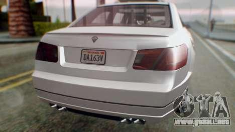 GTA 5 Benefactor Stretch E Turreted IVF para visión interna GTA San Andreas