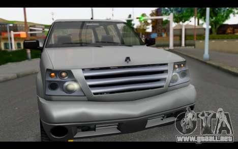 GTA 5 Albany Cavalcade IVF para la visión correcta GTA San Andreas