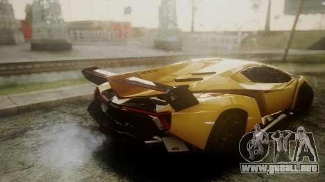 Lamborghini Veneno 2012 para la visión correcta GTA San Andreas