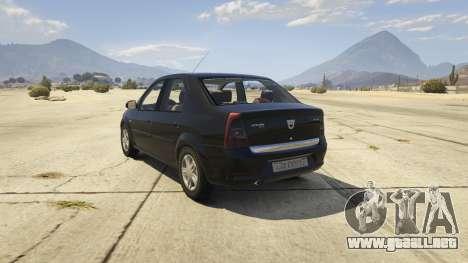 2008 Dacia Logan v2.0 FINAL para GTA 5