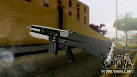 GTA 5 Assault Shotgun - Misterix 4 Weapons para GTA San Andreas segunda pantalla