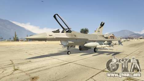 GTA 5 F-16C Fighting Falcon
