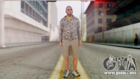 GTA 5 Michael para GTA San Andreas segunda pantalla