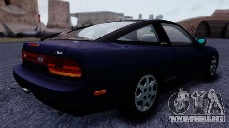 Nissan 240SX SE 1994 Stock para GTA San Andreas left