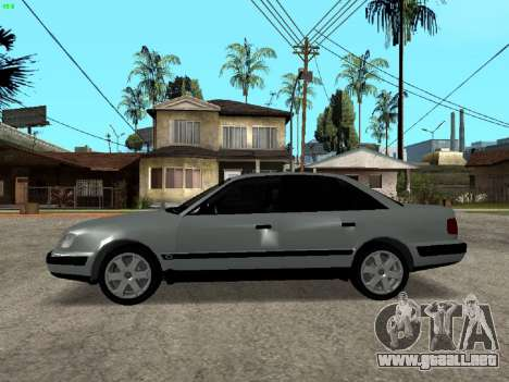 Audi 100 C4 1992 para GTA San Andreas left