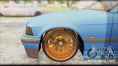 BMW M3 E36 Stanced-Hella para la visión correcta GTA San Andreas