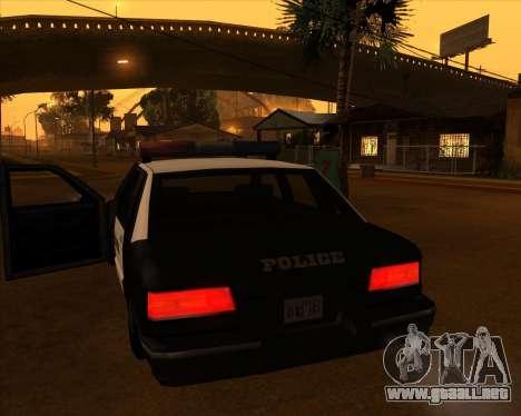 Vehículo Nuevo.txd v2 para GTA San Andreas sucesivamente de pantalla