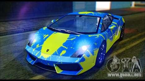 Lamborghini Gallardo LP560 PJ para la visión correcta GTA San Andreas