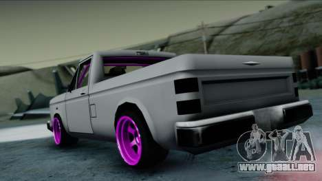 Bobcat Drift para GTA San Andreas left