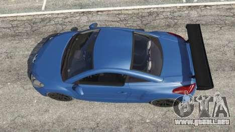 GTA 5 Peugeot RCZ vista trasera