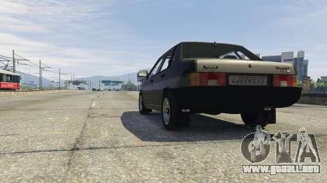 GTA 5 VAZ 21099 v3 vista lateral derecha