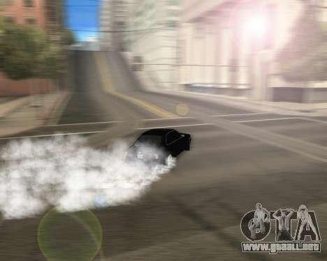 BMW 5-er E34 para visión interna GTA San Andreas