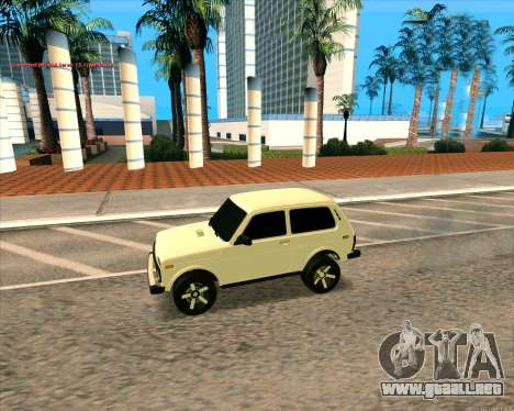 Niva 2121-Dorjar [ARM] para GTA San Andreas left