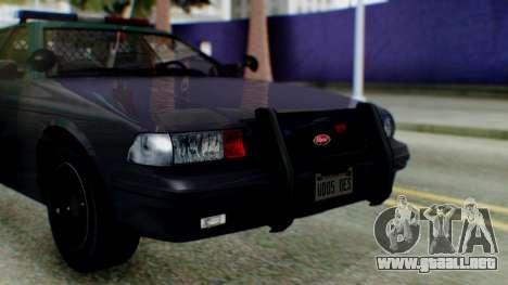 GTA 5 Vapid Stanier II Police IVF para la visión correcta GTA San Andreas