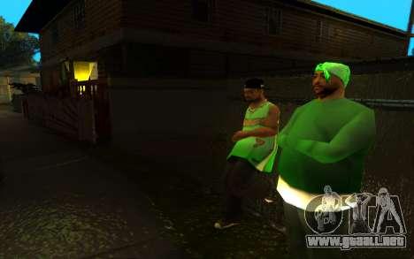 El avivamiento de la calle ganton para GTA San Andreas tercera pantalla