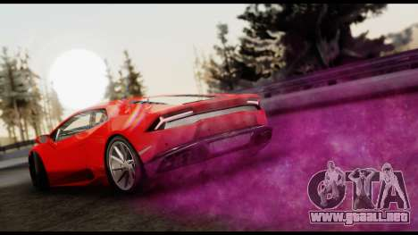 Cosmo Effects para GTA San Andreas
