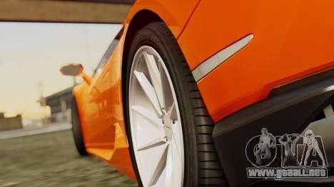 Lamborghini Huracan LP610-4 2015 para la visión correcta GTA San Andreas