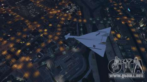 GTA 5 XB-70 Valkyrie séptima captura de pantalla