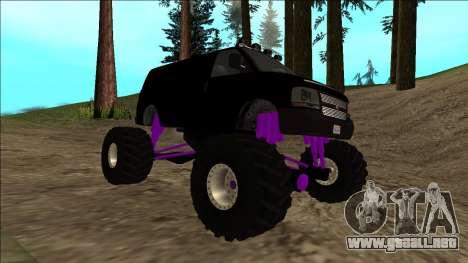 GTA 5 Vapid Speedo Monster Truck para la vista superior GTA San Andreas