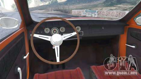 GTA 5 Saab 96 vista lateral trasera derecha
