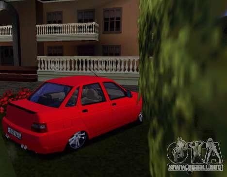 VAZ 2110 KBR para la visión correcta GTA San Andreas