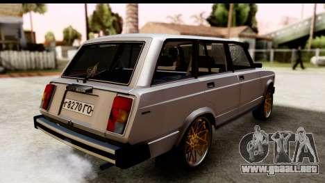 ВАЗ 2104 turco Edición para GTA San Andreas left
