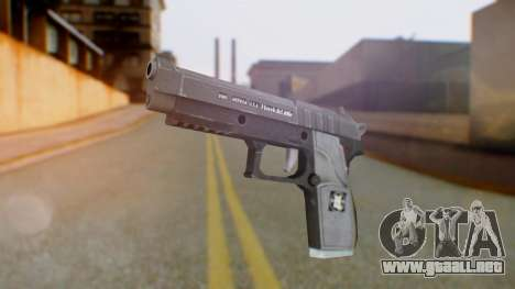 GTA 5 Pistol - Misterix 4 Weapons para GTA San Andreas