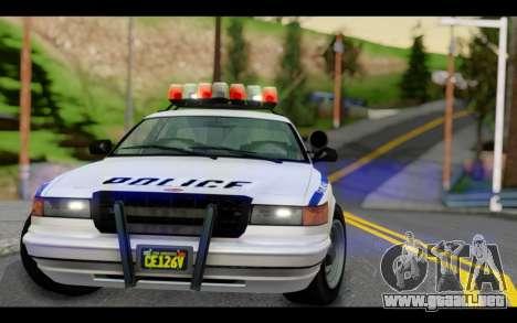 GTA 5 Curie IV White para la visión correcta GTA San Andreas