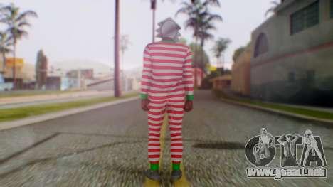 GTA Online Festive Surprise Skin 3 para GTA San Andreas tercera pantalla