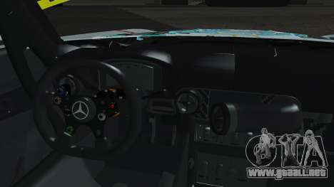 Mercedes-Benz SLS AMG GT3 2015 Hatsune Miku para visión interna GTA San Andreas